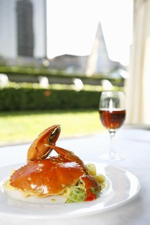coconut crab: Spicy coconnt Crab
