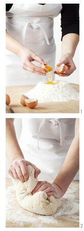 mixture: Making cake mixture LANG_EVOIMAGES