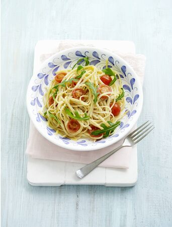arugola: Linguine with tomatoes and rocket LANG_EVOIMAGES