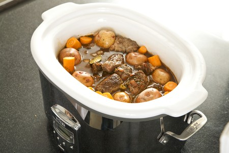 slow cooker: Beef Stew in a Slow Cooker