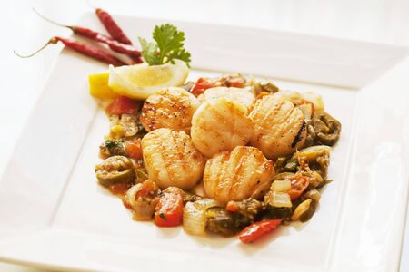 coquille: Mexican Style Scallops LANG_EVOIMAGES