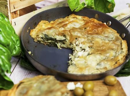pasty: Spanakopita (spinach pasty, Greece)