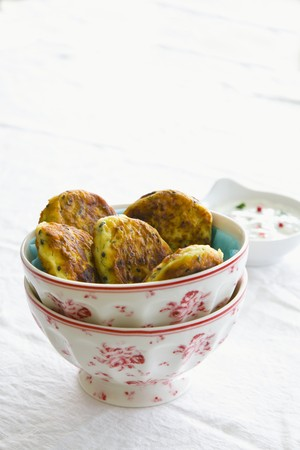 jewish cuisine: Latkes (potato cakes, Jewish cuisine)