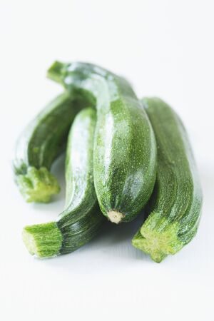 courgettes: Four courgettes