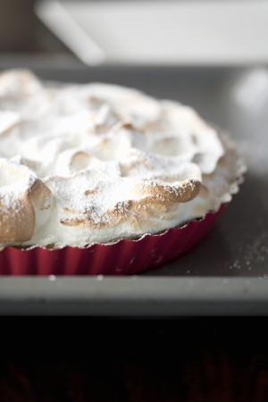 sucre glace: Meringue tarte de sucre glace