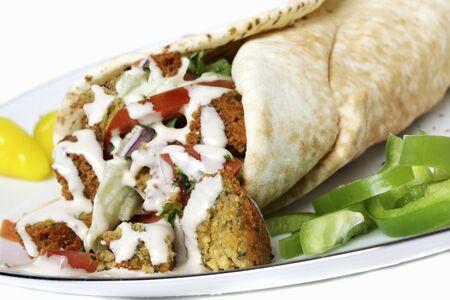 falafel: Falafel Wrap
