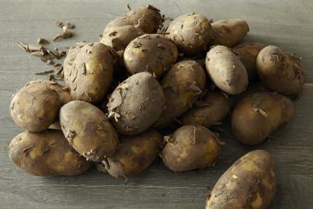 royals: New potatoes (Jersey Royals)