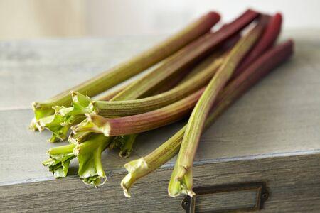 rheum: Sticks of rhubarb LANG_EVOIMAGES