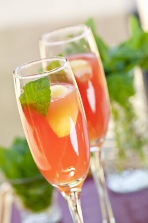 champers: Strawberry Bellini