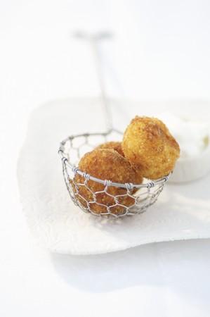 rumanian: Fried dumplings (Romania)