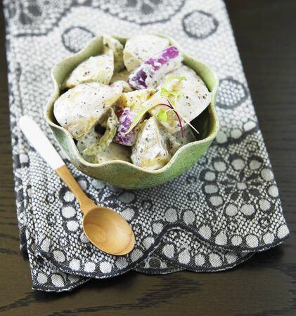 potato cod: Bowl of Cape Cod Potato Salad