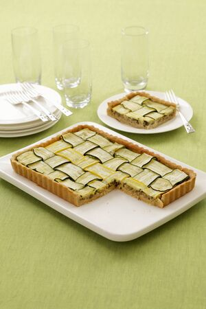 cocozelle: Courgette tart, sliced LANG_EVOIMAGES