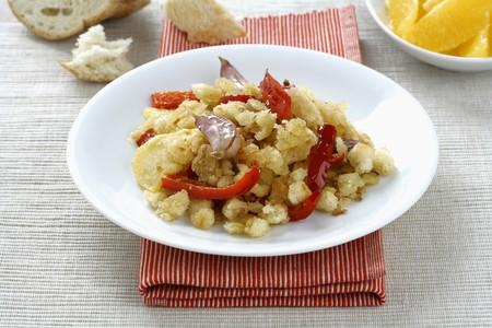 andalusian cuisine: Migas Migas de Huelva Huelva LANG_EVOIMAGES