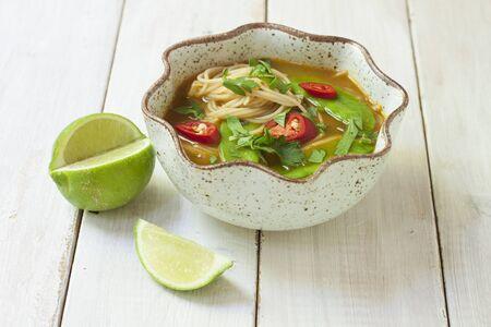 noodle soup: Oriental noodle soup