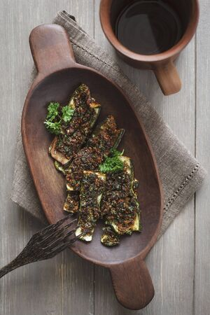 cocozelle: Roasted courgette marinated in chermoula LANG_EVOIMAGES