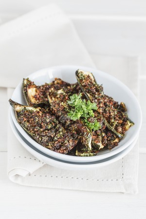 Roasted courgette marinated in chermoula LANG_EVOIMAGES