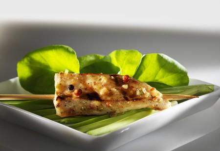 lemongrass: A sate kebab with lemongrass and peppercorns