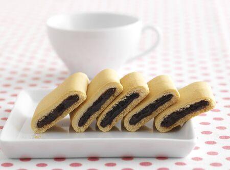 jam biscuits: Frutti di bosco e confettura di fichi biscotti