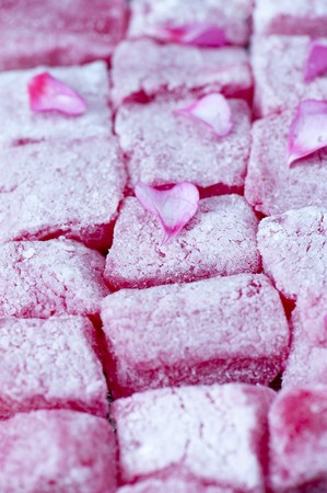 turkish delight: Turkish Delight close up LANG_EVOIMAGES