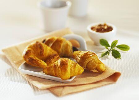 danish puff pastry: Small Danish pastries