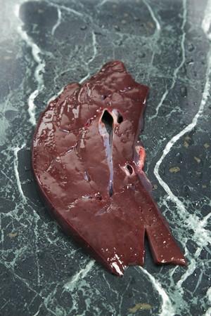 innards: A slice of calfs liver