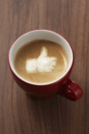 capuccino: Capuccino with the Like symbol