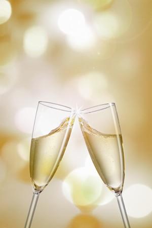 clinking: Bebiendo champ�n