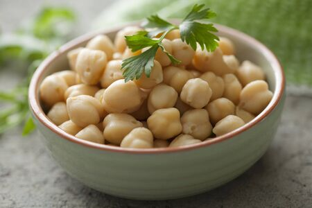 garbanzos: Un plato de garbanzos LANG_EVOIMAGES