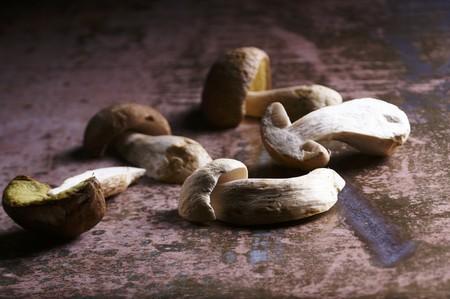 porcini: Fresh porcini mushrooms