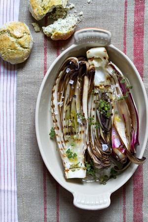 treviso: Grilled Radicchio di Treviso with poppy-seed scones LANG_EVOIMAGES