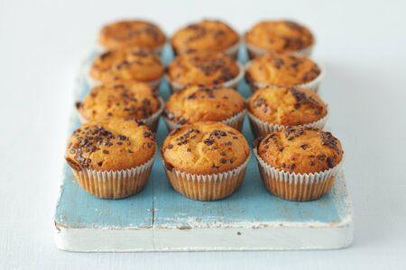 choco chips: Chocolate chip muffins