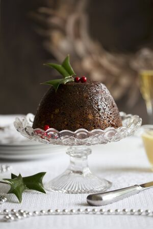 plum pudding: Un budino di prugne per Natale