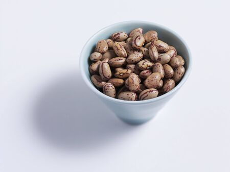 borlotti beans: Borlotti beans in a bowl