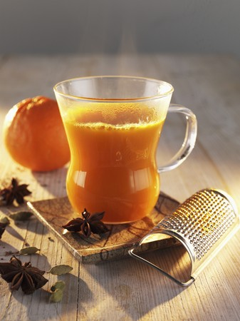 seabuckthorn: Sea-buckthorn punch with orange and star anise