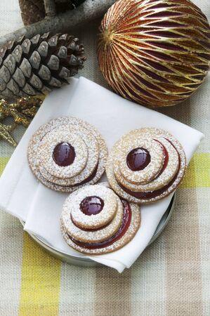 dodgers: Terrace cookies with cherry jam