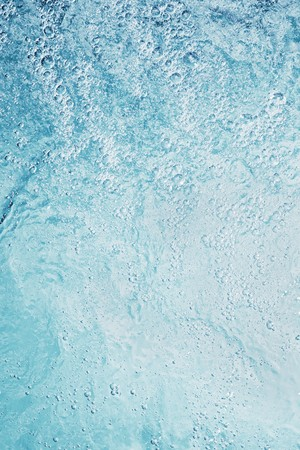 bubbling: Bubbling water