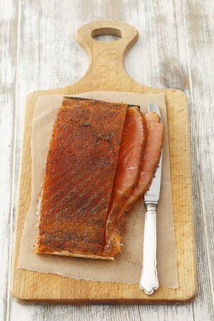 saumon fum�: Saumon fum�