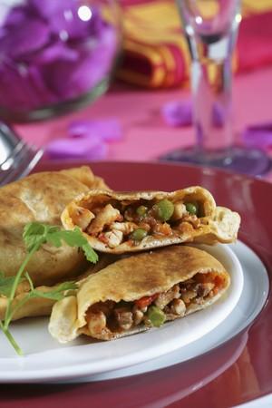 southern european: Spanish empanadas with fish filling LANG_EVOIMAGES