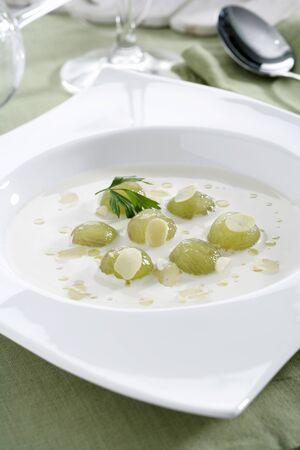 southern european: ajoblanco - almonds soup