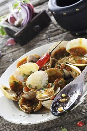 marinara: Clams with marinara sauce LANG_EVOIMAGES