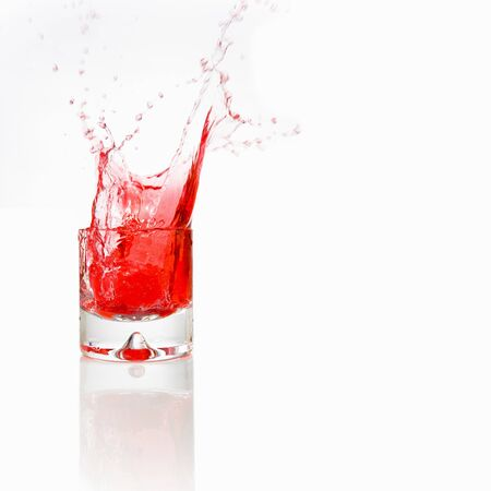 red water: Red water splash