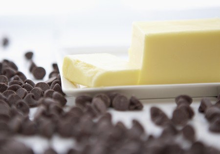 choco chips: Chocolate Chips and Butter LANG_EVOIMAGES