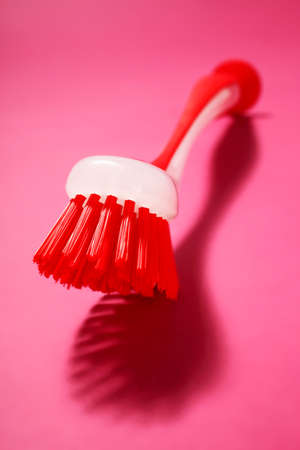 washing up: A washing up brush