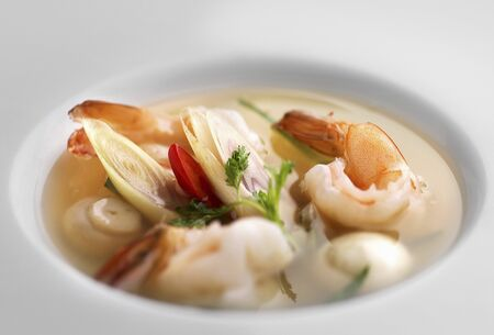 cuisines: Prawn soup from Thailand