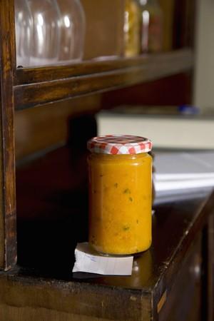 tallboy: A jar of pumpkin paste