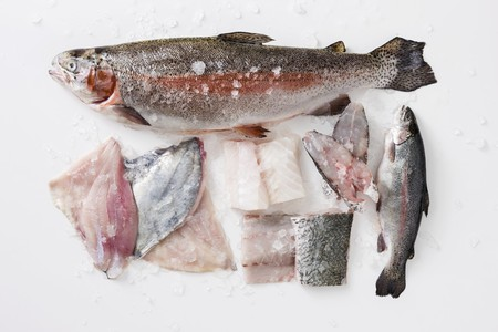 poaching: Various fish for poaching