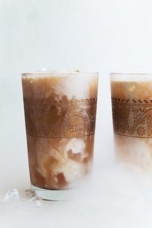 chai: Iced chai latte
