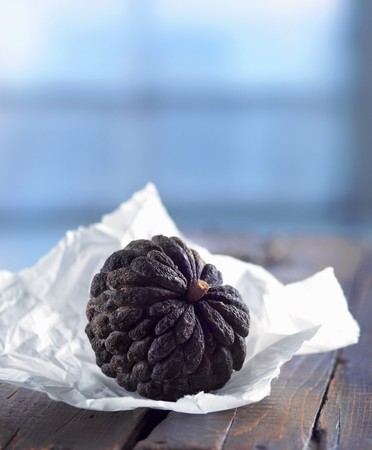 sweetsop: A Sugar Apple (Sweetsop); On Paper