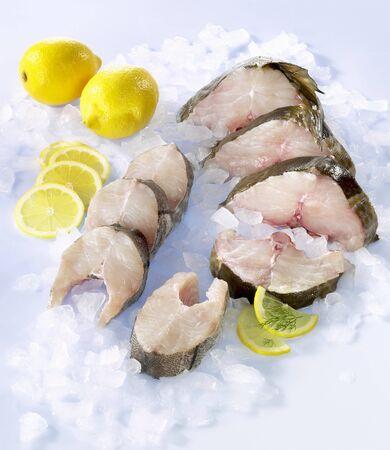 haddock: Fresh cod and haddock steaks