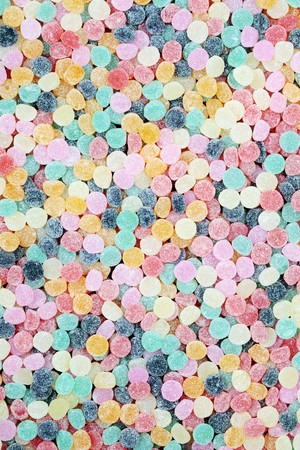 lots: Lots of brightly colored chewy candies